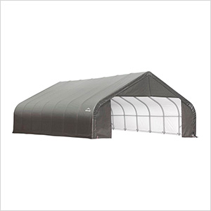 28x24x16 ShelterCoat Peak Style Shelter (Gray Cover)