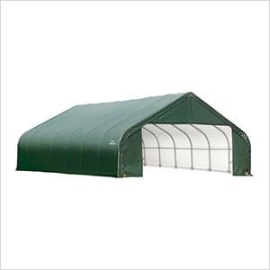 28x24x16 ShelterCoat Peak Style Shelter (Green Cover)