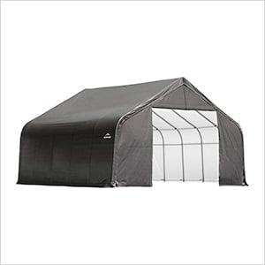 28x20x20 ShelterCoat Peak Style Shelter (Gray Cover)