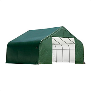 28x20x20 ShelterCoat Peak Style Shelter (Green Cover)