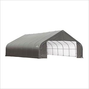 28x24x20 ShelterCoat Peak Style Shelter (Gray Cover)