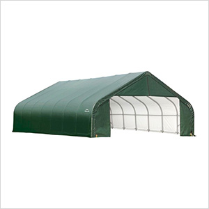 28x24x20 ShelterCoat Peak Style Shelter (Green Cover)