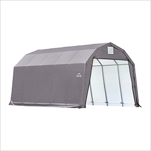 12x20x11 ShelterCoat Barn Style Shelter (Gray Cover)