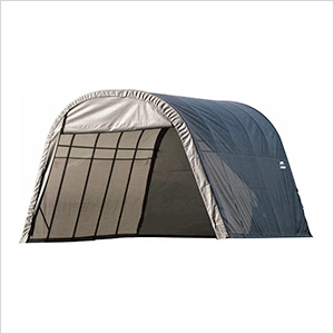 13x28x10 ShelterCoat Round Style Shelter (Gray Cover)