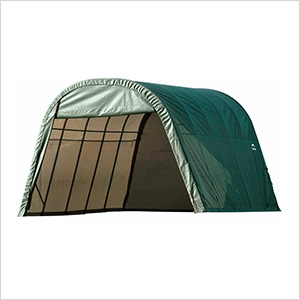 13x28x10 ShelterCoat Round Style Shelter (Green Cover)