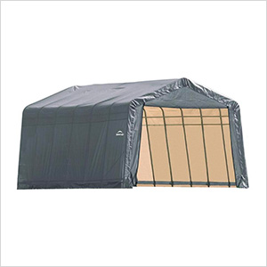 13x28x10 ShelterCoat Peak Style Shelter (Gray Cover)