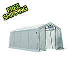 ShelterLogic 10x20x8 Firewood Seasoning Shed