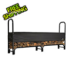 ShelterLogic 8 ft. Heavy Duty Firewood Rack with Cover