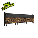 ShelterLogic 12 ft. Heavy Duty Firewood Rack with Cover