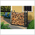 4 ft. Ultra Duty Firewood Rack without Cover