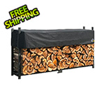 ShelterLogic 8 ft. Ultra Duty Firewood Rack with Cover