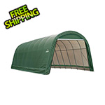 ShelterLogic 15x28x12 ShelterCoat Round Style Shelter (Green Cover)