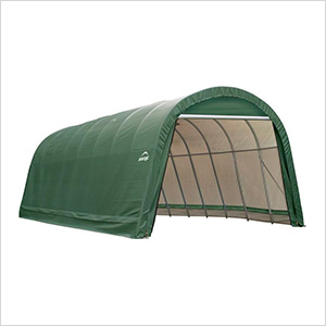 15x24x12 ShelterCoat Round Style Shelter (Green Cover)