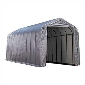 16x44x16 ShelterCoat Peak Style Shelter (Gray Cover)
