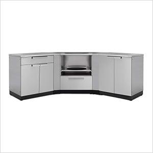NewAge 65176 | Stainless Steel 7-Piece Outdoor Kitchen Set on Patio Kitchen Set id=98185