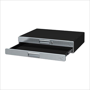 "Dual 3"" Stainless Steel Storage Drawer Unit"
