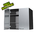"Hercke 30"" Stainless Steel Lower Storage Cabinet"