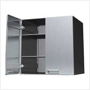 "30"" Stainless Steel Lower Storage Cabinet"