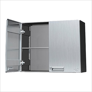 """24"""" Stainless Steel Overhead Storage Cabinet"""