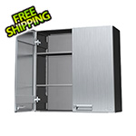 "Hercke 30"" Stainless Steel Overhead Storage Cabinet"
