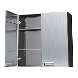 """30"""" Stainless Steel Overhead Storage Cabinet"""
