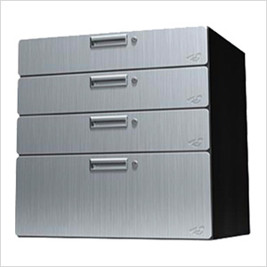 "30"" Stainless Steel Quadro Storage Drawer"