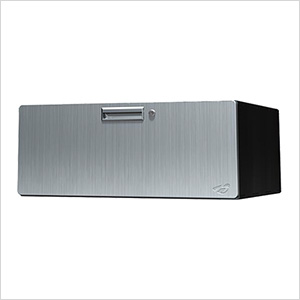 "12"" Stainless Steel Single Drawer Unit"