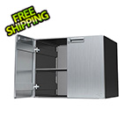 "Hercke 24"" Stainless Steel Upper Storage Cabinet"