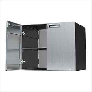 """24"""" Stainless Steel Upper Storage Cabinet"""