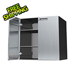 "Hercke 30"" Stainless Steel Upper Storage Cabinet"