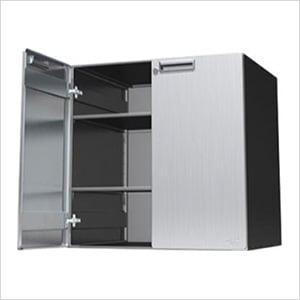 """30"""" Powder Coated Upper Storage Cabinet"""