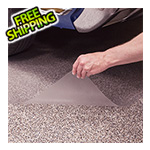 G-Floor 10' x 24' Clear Levant Floor Cover and Protector