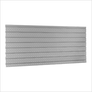 "PRO Series 56"" Diamond Plate Slatwall Backsplash"