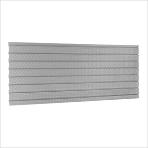"PRO Series 84"" Diamond Plate Slatwall Backsplash"