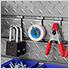 12-Piece Steel Slatwall Accessory Kit