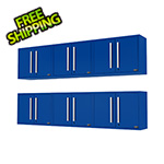Proslat Fusion Pro Blue Wall Mounted Garage Cabinet (6-Pack)
