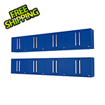Proslat Fusion Pro Blue Wall Mounted Garage Cabinet (8-Pack)