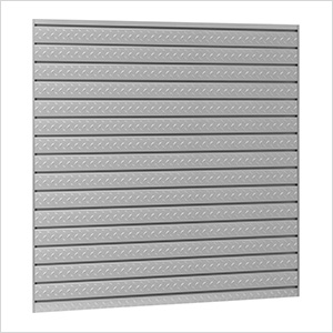 PRO Series 16 Sq. Ft. Steel Slatwall (2-Pack)