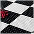 """12"""" x 12"""" Peel and Stick Black Diamond Tread Tiles (20-Pack)"""