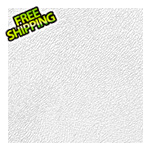 "G-Floor 24"" x 24"" Peel and Stick White Levant Tiles (10-Pack)"