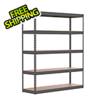 "SafeRacks 60"" x 18"" x 72"" Modular Garage Storage Rack"