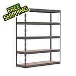 "SafeRacks 60"" x 18"" x 72"" Modular Garage Storage Rack"