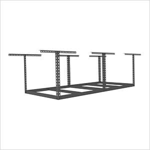 "4'x8' Overhead Storage Rack Frame Kit 18""-33"" Drop"