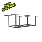 "SafeRacks 4'x8' Overhead Storage Rack Frame Kit 24""-45"" Drop"