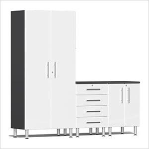 3-Piece Cabinet Kit in Starfire White Metallic