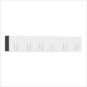 6-Piece Garage Wall Cabinet Kit in Starfire White Metallic