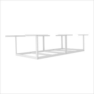"4'x8' Overhead Storage Rack Frame Kit 12""-21"" Drop"