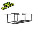 "MonsterRax 4'x8' Overhead Storage Rack Frame Kit 18""-33"" Drop"