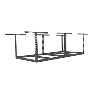 "4'x8' Overhead Storage Rack Frame Kit 18""-33"" Drop"