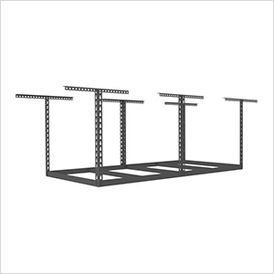 "4'x8' Overhead Storage Rack Frame Kit 24""-45"" Drop"